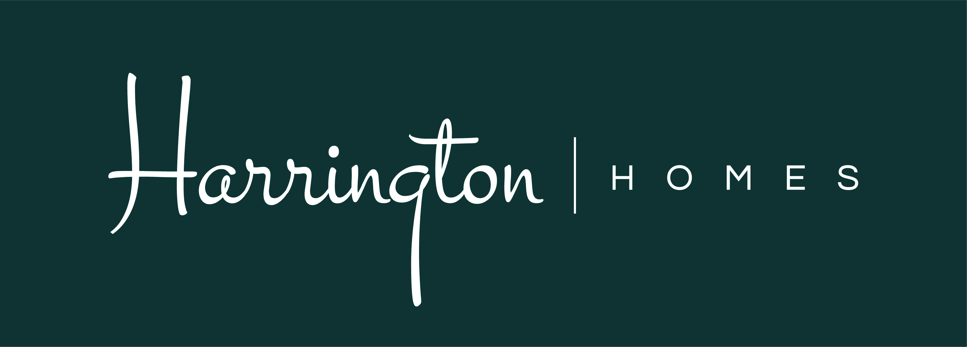 We would Like to welcome Harrington Homes